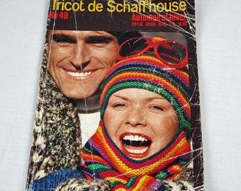 Vintage Knitting Magazine - Tricot de Schaffhouse Magazine - French Magazine - No.49 - 1980s - Knitting Patterns Book - 71 patterns