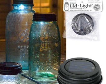 Solar Mason Jar Lid Great Craft Supply