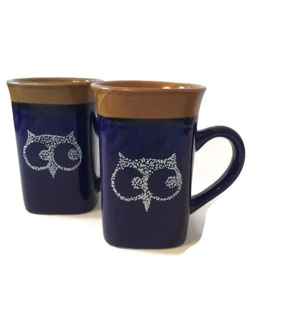 tall coffee mugs 2 owl coffee mugs mug unique mug coffee mug tea 11445