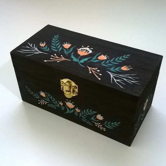 Ratings Feedback For Gavan Wood Painting Decorating: Hand Painted Wooden Box