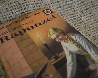 Rapunzel. Well Loved Tales. A Vintage Ladybird Book. Series 606D. 1974