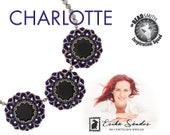 Charlotte necklace / pendant - instant dowload for the pdf instructions for a top-notch beadwork project!