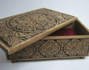 Wooden box, Wooden jewelry box, Wooden, Wooden casket, Woodworking, Wooden casket for jewelry