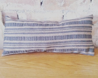 Grey And Champagne Stripes Scatter Cushion