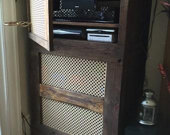 Tv/tuner storage cabinet