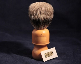 "Shaving Simpsons Butterscotch ""25"" Pure Badger Shaving Brush Badger our"
