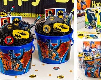 Batman party  favor cups