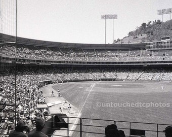Candlestick Park Photograph - Black and White - Unique, One and Only