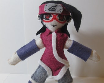 Sarada from Naruto Art Plush