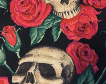 Alexander henry cotton print resting in roses