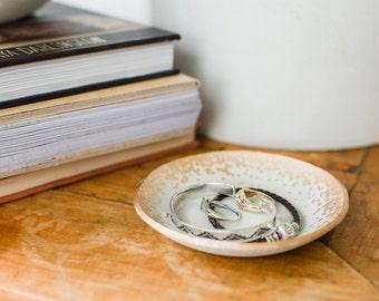 Ring Dish | Cement Ring Dish | Concrete Ring Dish | Gold Ring Dish | Ring Storage | Jewelry Storage | Catch All Dish | Minimal