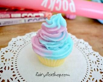 Cotton Candy cupcake soap