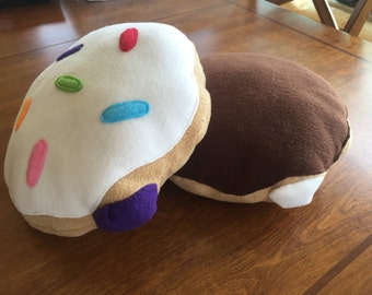 Large Cream Filled/Jelly Filled Donuts - Fursuit Prop