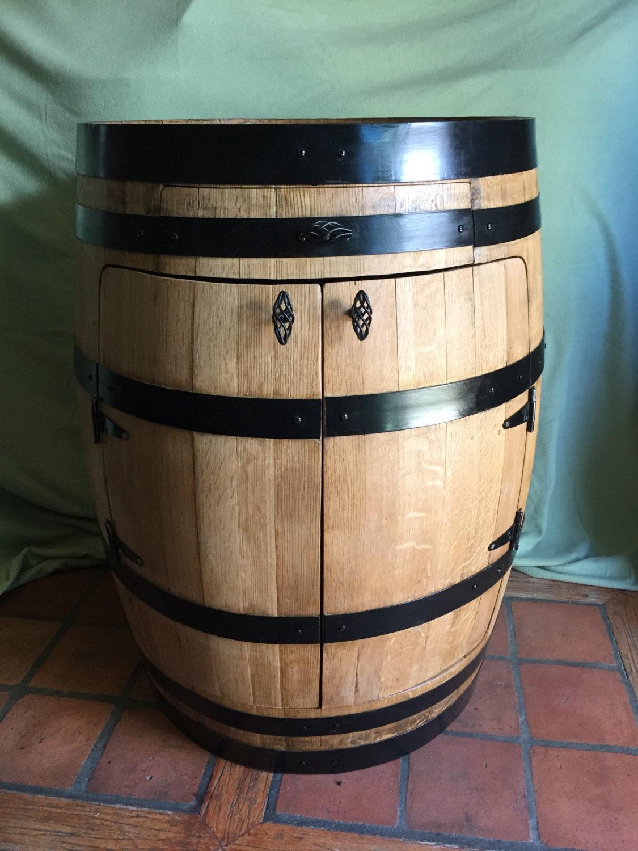 Full Barrel Liquor Cabinet Bistro Wine Barrel
