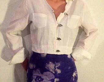 Women's vintage shirt Nara Camicie sz. 42