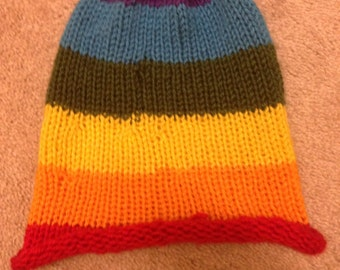 Custom Rainbow Pride Beanie