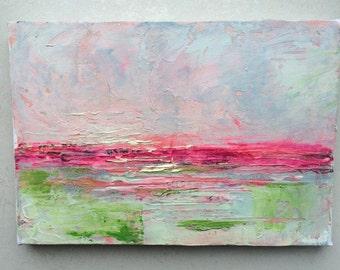 Original Acrylic Painting / Seascape