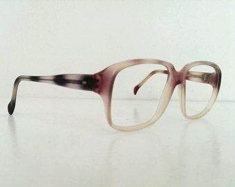 Vintage 70s Mens Chunky Plastic Eye Glasses Frames