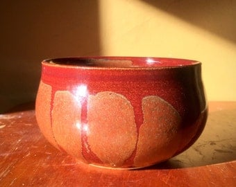 Red and Gold Resist Bowl