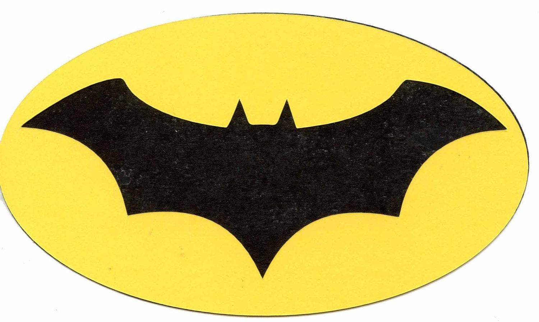 2003 batman dead end symbol logo scrapbook die cut buycottarizona