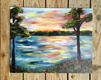 Lakeshore at Twilight
