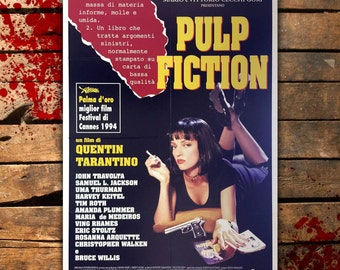 Original Movie Poster Pulp Fiction 100x140 CM