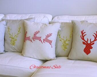 Xmas / Reindeer Pillow