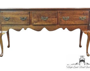 Queen anne buffet etsy for Sideboard queens