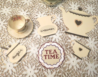 Tea Time Tea Set 5 pieces