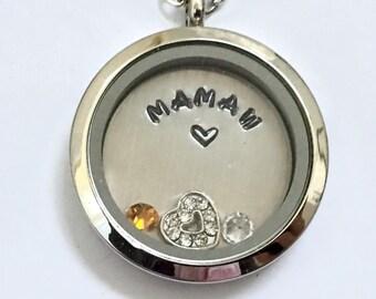Mamaw charm | Etsy