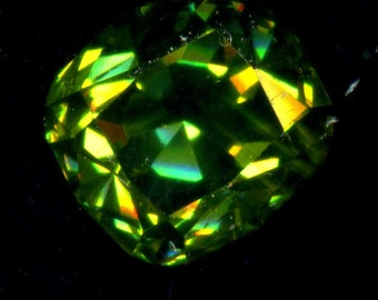Russian natural Urals.demantoid. 3.13ct very green.