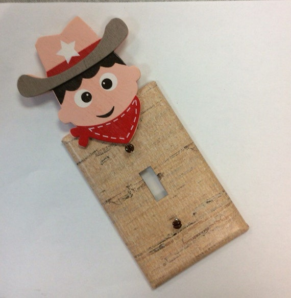 Western Light Switch CoverCowboy BedroomCowboy Nursery