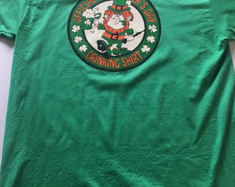 Awesome 80s Official St. Patrick's Day Drinking Shirt