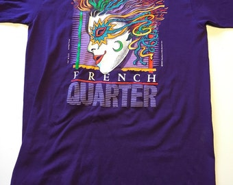 Vintage 1989 NEW ORLEANS French Quarter  T Shirt