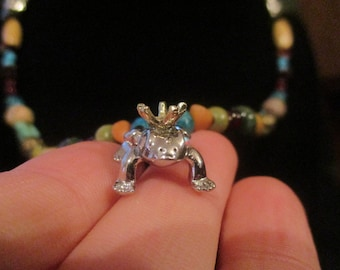 Frog Prince Beaded Necklace