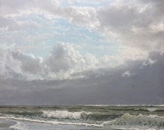 Original seascape oil painting