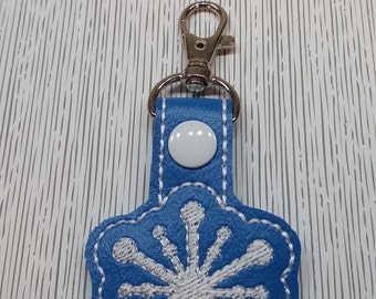 Snow flake Key chain