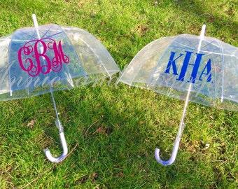 Adults' Personalized Clear Dome Bubble Umbrella