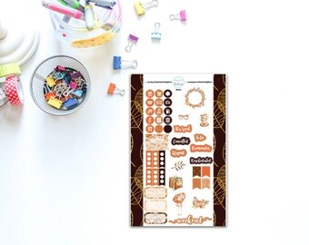 Personal Sized Autumn for Planners, Penpal and Journalling