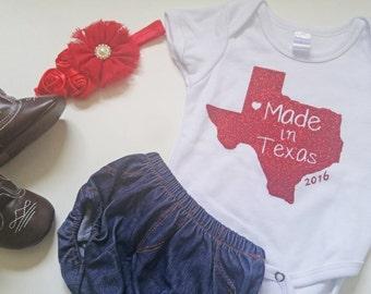 Texas Custom Tees and Onesies- Made in Texas Ya'll