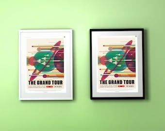 Grand Tour JPL Poster