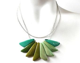Tagua Necklace, Tagua Nut Jewelry, Tagua Seed Necklace, Statement Necklace, Sophisticated Jewelry, Unique Jewellery