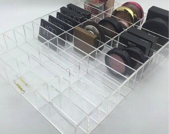 "Acrylic Makeup ""Alex 39"" Acrylic Vanity Ikea Alex Drawer Compact Organizer"