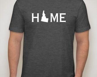 Idaho home shirt, Idaho shirt, Idaho native shirt
