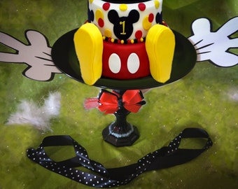 Cake Plate, Cake Stand, Cupcake Plate, Cupcake Stand, Tray, Minnie Mouse, Mickey Mouse, Smash Cake, Birthday, Shower, Party