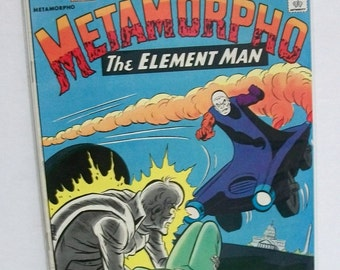1975 1st Issue Special  Starring Metamorpho The Element Man  Good-VG  Vintage DC Comic Book