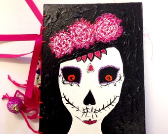 Art Journal, smash book, day of the dead, sketch book