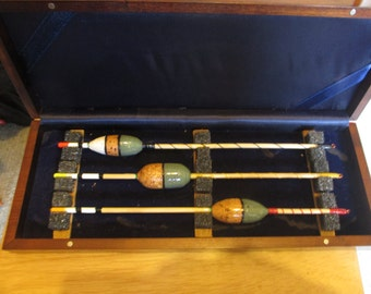 3 boxed fishing floats