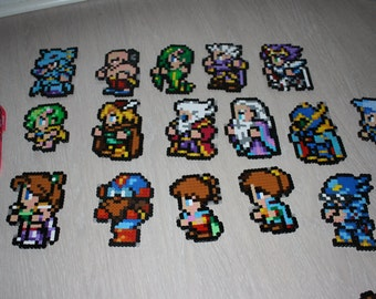 Final Fantasy 4 IV FFRK Perler Pixel Art