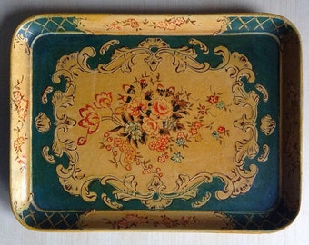 Paper Mache Tray Occupied Japan